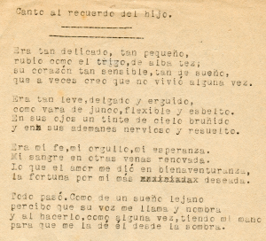 poemas-canto al recuerdo del hijo